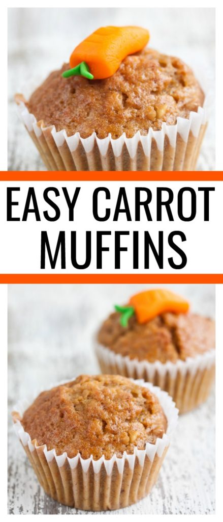 Healthy, delicious, and kid friendly? These easy carrot muffins are all of the above and something even the pickiest kid will love.