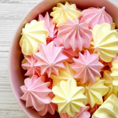 Easy Meringue Cookies Recipe {5 Ingredients}