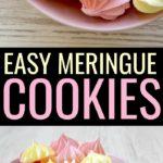 Egg white dessert recipe: easy meringue cookies.