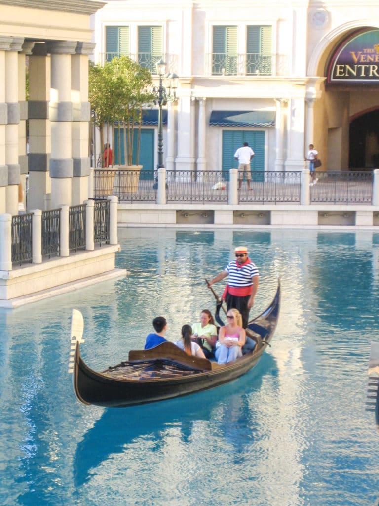 Venetian Hotel Gondola Ride