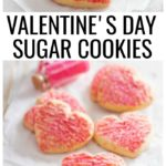 Make completely homemade sugar cookies for Valentine's Day. Learn how to freeze sugar cookies and my favorite ways to decorate them.
