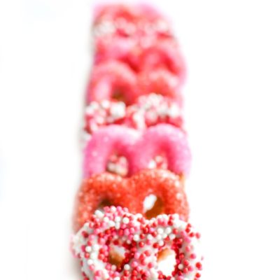 Valentine's Day Covered Pretzels Recipe
