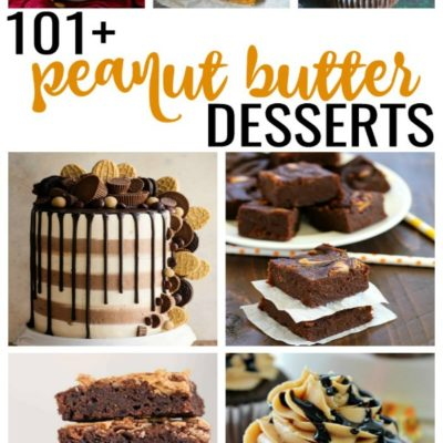 101+ Peanut Butter Dessert Recipes: Lip-Smacking Goodness