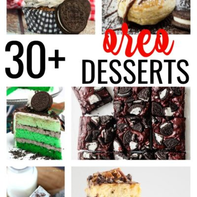 34 Best Oreo Desserts That'll Make You Run to the Store!