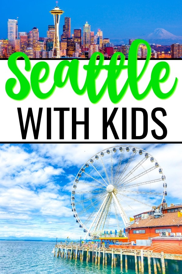 Don't plan your vacation to Seattle with kids without checking out these travel tips! Five Seattle travel tips to make your vacation great! #familytravel #traveltips #travelwithkids #seattletravel #seattlewithkids