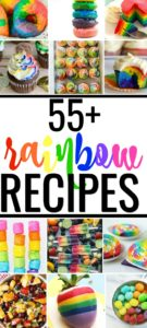 Looking for rainbow birthday party ideas? Or, just enjoy colorful food? Eating is more fun with these rainbow recipes from dinner to dessert! #rainbowcake #rainbowrecipes #rainbowcupcakes #rainbowbirLooking for rainbow birthday party ideas? Or, just enjoy colorful food? Eating is more fun with these rainbow recipes from dinner to dessert! #rainbowcake #rainbowrecipes #rainbowcupcakes #rainbowbirthday #rainbowcookies #rainbowfoodthday #rainbowcookies #rainbowfood