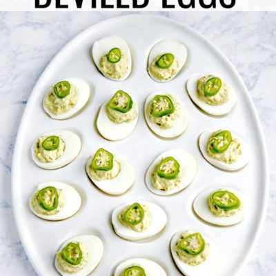 Avocado Deviled Eggs Recipe – A Keto Recipe for Parties