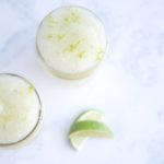 Lime body scrub tutorial.