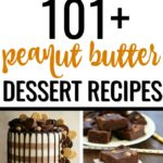 Love peanut butter? This is the ultimate guide to 101+ of the best peanut butter desserts on the internet! It's like a mini-cookbook for peanut butter!