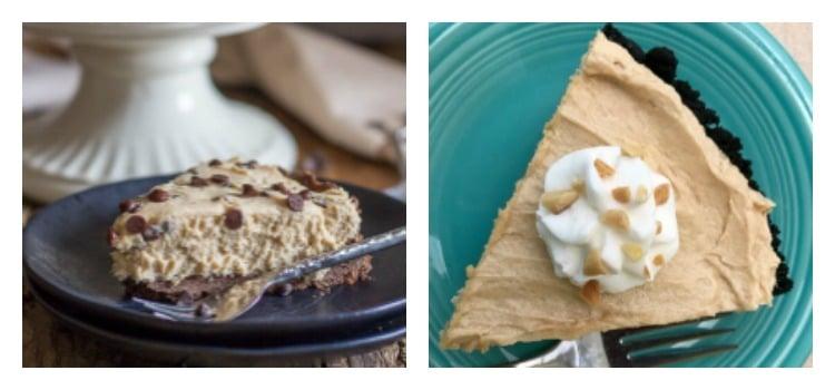 Peanut butter pie recipes.