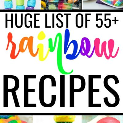 55+ Rainbow Recipes for Every Meal of the Day!