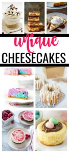 Traditional cheesecake is the perfect dessert. But add on some toppings or mix-in's and it becomes so much more! These 20 unique cheesecake recipes are some of the best and most popular homemade desserts.