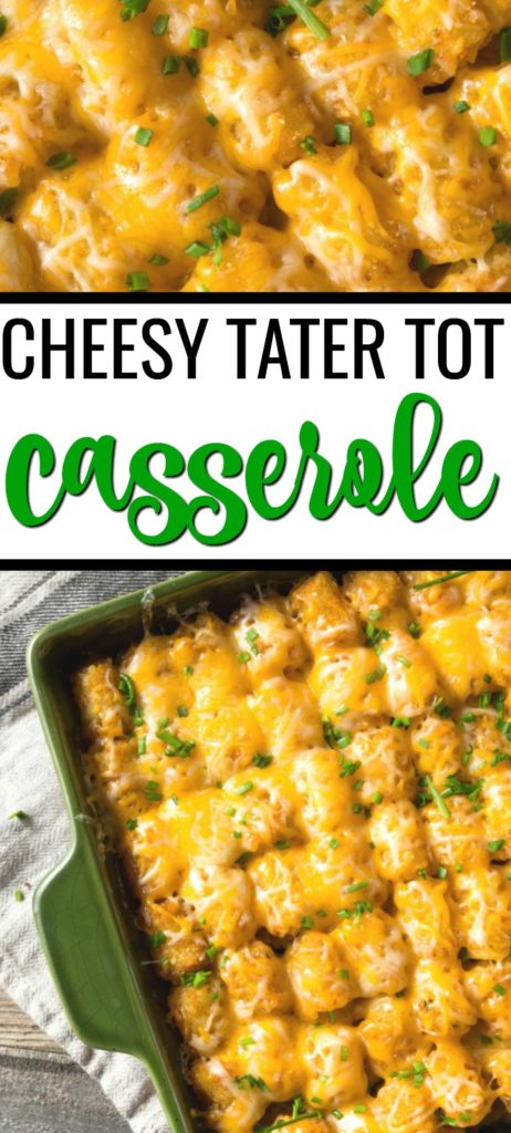 This cheesy tater tot hotdish casserole is the definition of comfort food. It's a hot dish recipe that will remind you of your childhood! This <a href=