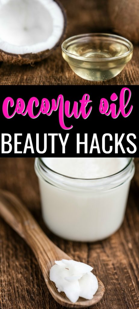 These 15 coconut oil beauty hacks are easy to add to your daily routine! Coconut oil is chemical free and a great way to pamper moisturize your skin, hair, and nails. Here are some easy coconut beauty hacks you have to try out today!