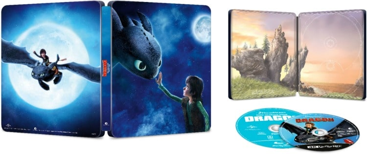 How to Train Your Dragon: The Hidden World 4K Movie