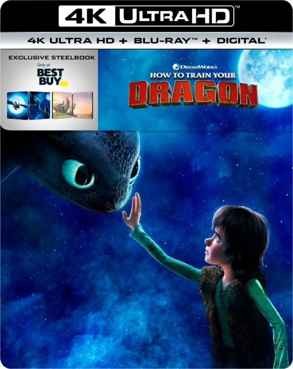 How to Train Your Dragon: The Hidden World Steelbook cover