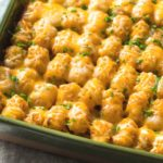 Easy Cheesy Tater Tot Casserole Recipe with Ground Beef