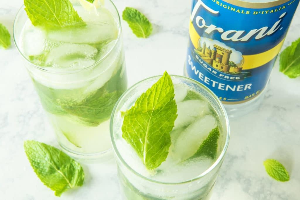 Sugar Free Mojito Cocktails