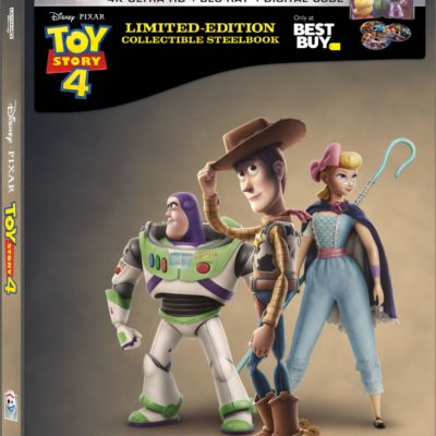 Pre-Order Toy Story 4 Blu-Ray Collectible SteelBook Today!