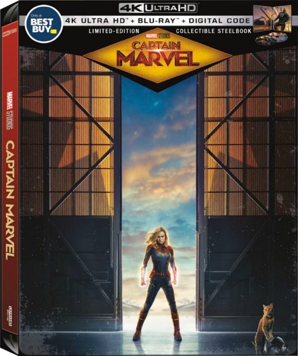 Marvel Captain America Steelbook DVD