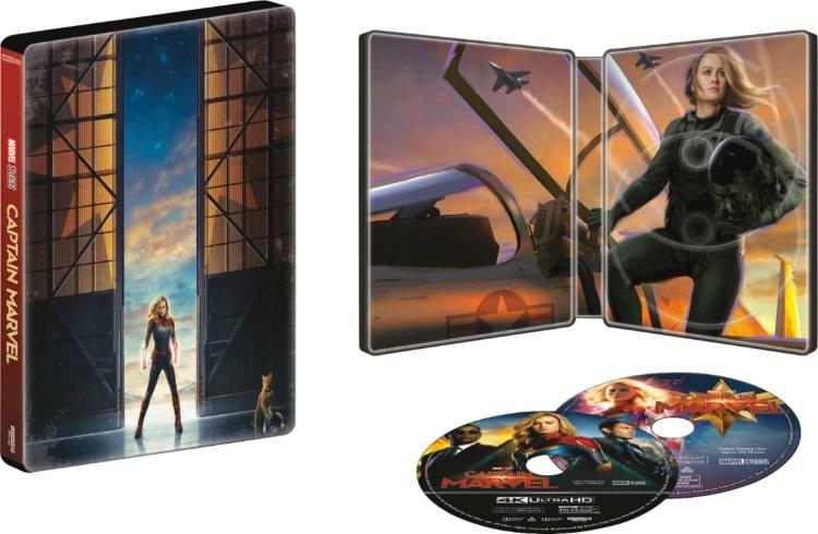 Marvel Captain America Steelbook Cover Art