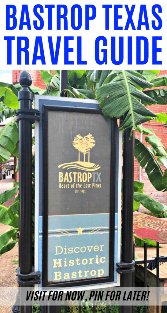 Looking for a fun getaway close to Austin? Here's everything you need to know about visiting Bastrop TX to make the most of your trip! #sponsored #bastroptx #bastrop #texastravel #familytravel