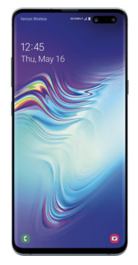 Samsung Galaxy S10 5G cell phone from Verizon