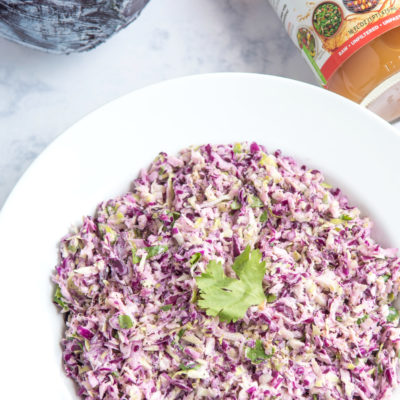 Spicy Keto Coleslaw Recipe