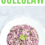 Are you looking for a spicy keto coleslaw? This is the best coleslaw recipe for any diet. It's great on fish tacos or as a side dish!