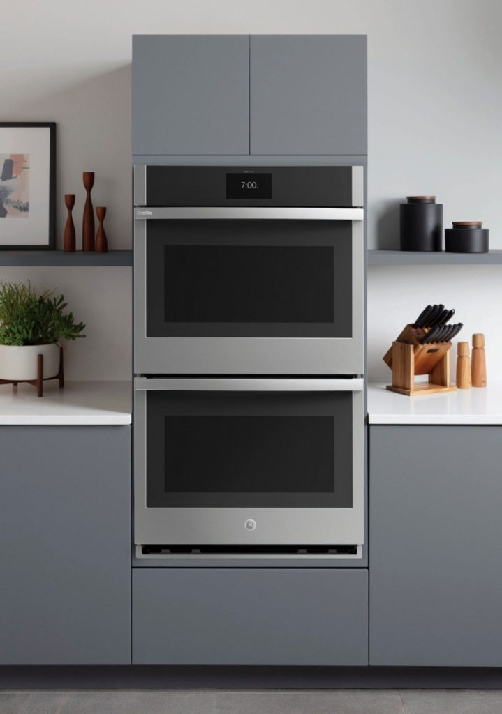 GE Profile Smart Oven installed with Best Buy consutlt
