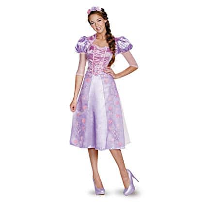 Disguise Women's Rapunzel Deluxe Costume
