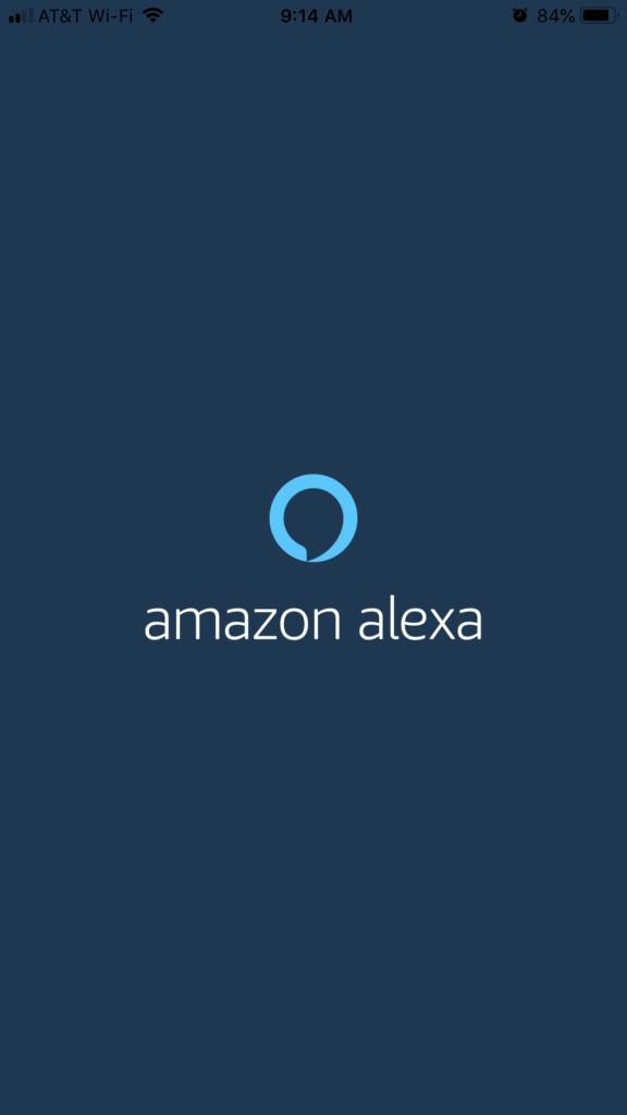 Amazon Alexa App screenshot