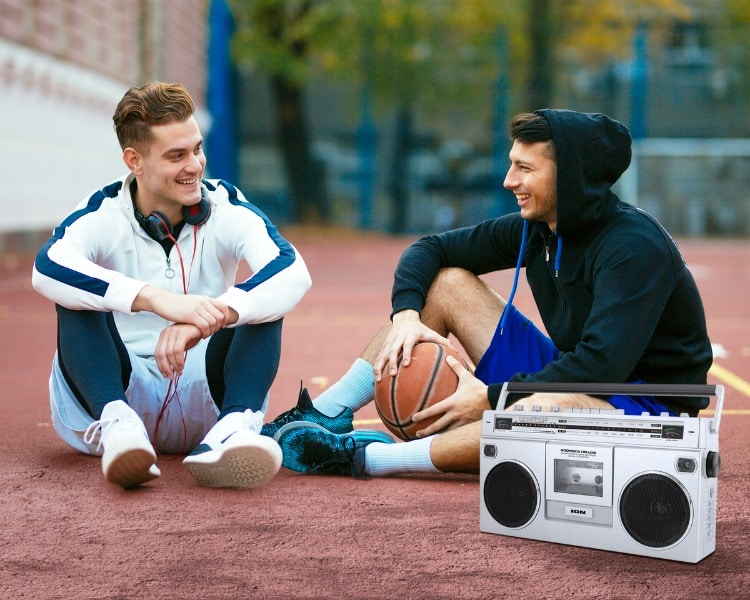 Retro Style Ion Boombox Bluetooth Speaker