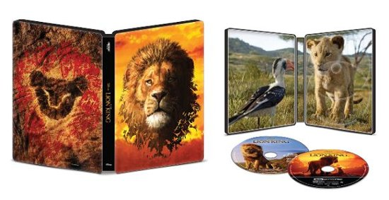 The live action new Lion King Collectible movie SteelBook