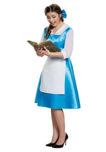 Adult Belle Blue Costume Dress