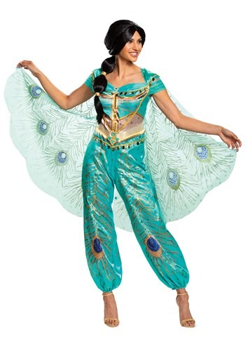 Disney Aladdin Live Action Jasmine Costume Womens