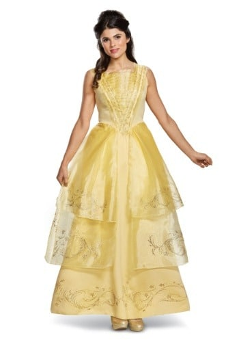 Belle Ball Gown Deluxe Costume for Women
