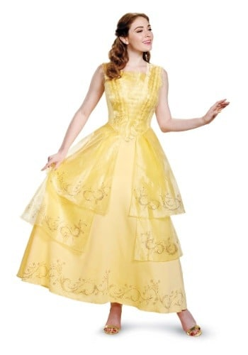 Beauty & the Beast Costumes for Adults Belle Ball Gown