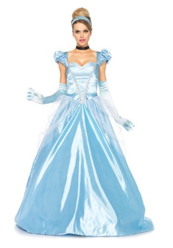Cinderella Costume Adult Classic Full Length Gown for Women