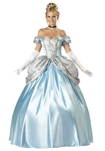 Elite Enchanting Cinderella Adult Princess Costume