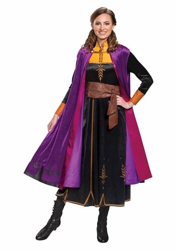 Deluxe Frozen 2 Anna Adult Princess Costume