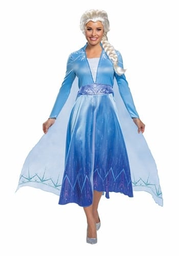Deluxe Frozen 2 Princess Elsa Costume for Women