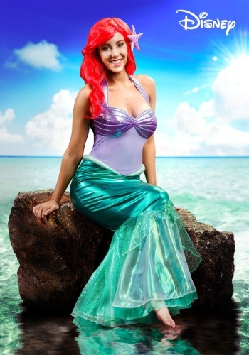 Disney Little Mermaid Deluxe Ariel Costume Adult