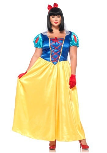 Classic Snow White Plus Size Costume for Women