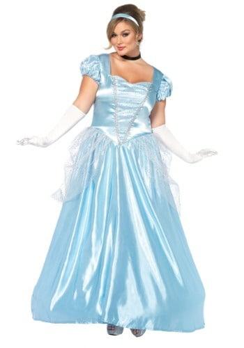 Plus Size Cinderella Classic Adult Princess Costume