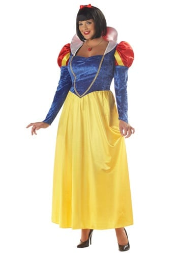 Plus Size Womens Disney Costumes Snow White