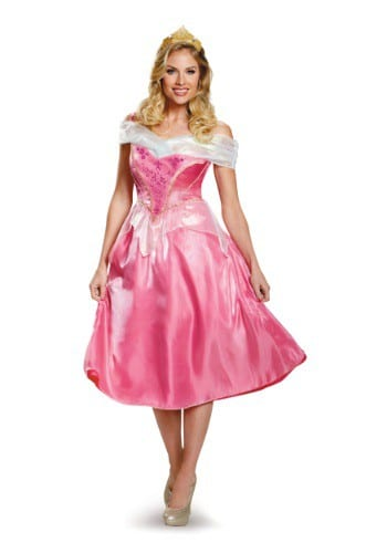 Adult Princess Costume Dress Sleeping Beauty