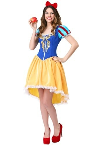 Women's Plus Size Ravishing Snow White Costume