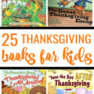 25 Thanksgiving Books for Kids