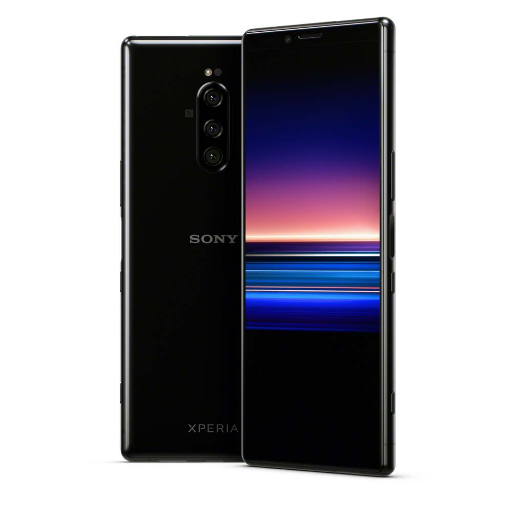 Sony Xperia 1 Cell Phone front and back